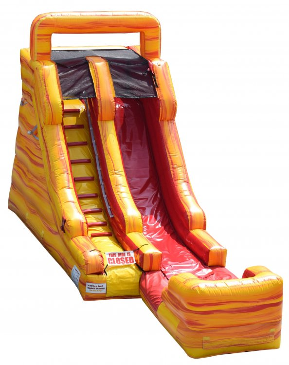 15ft Fire Slide (Wet)