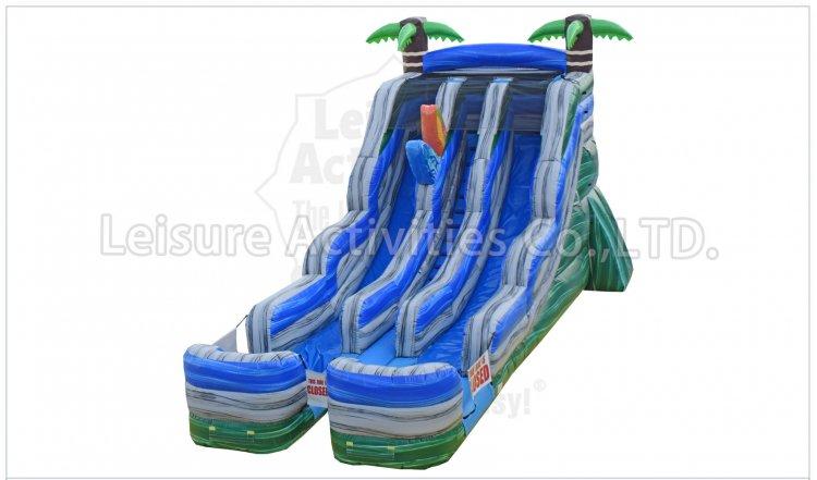 16ft Double Lane Surf Slide